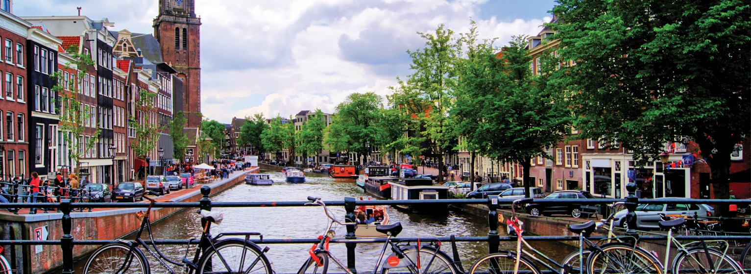 Flights from Boston to Amsterdam  from USD 145