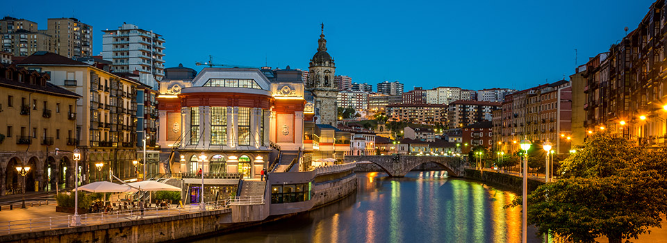 Flights from Bologna to Bilbao  from 107 EUR