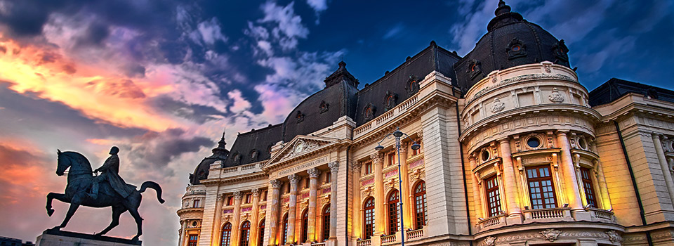 Flights from Sevilla to Bucharest  from 338 EUR