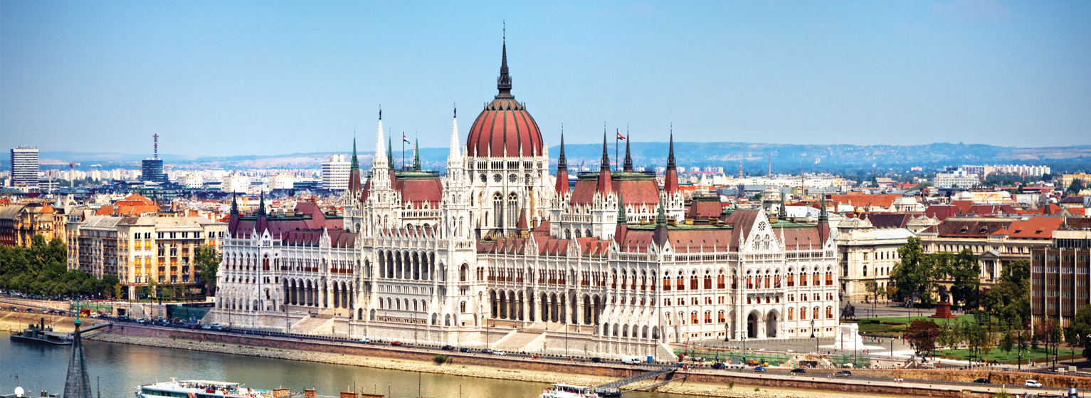 Flights from New York/Newark to Budapest  from USD 265