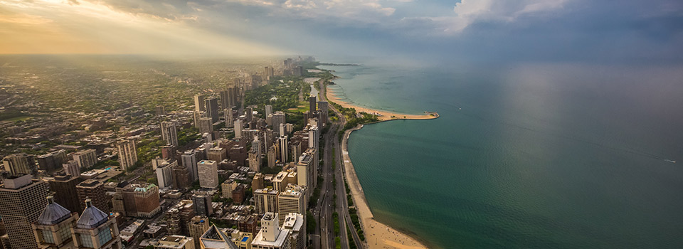 Flights from Amsterdam to Chicago  from 362 EUR