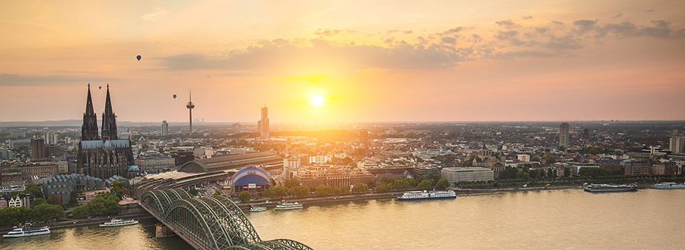 Flights to Cologne (CGN) from 129 EUR