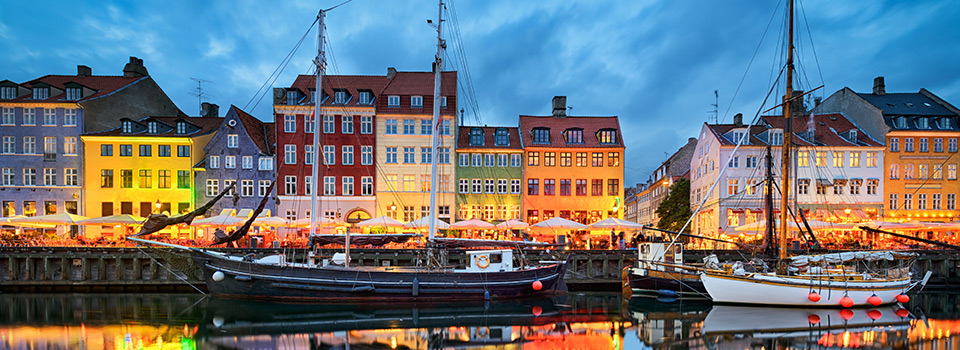 Flights from Barcelona to Copenhagen  from 157 EUR