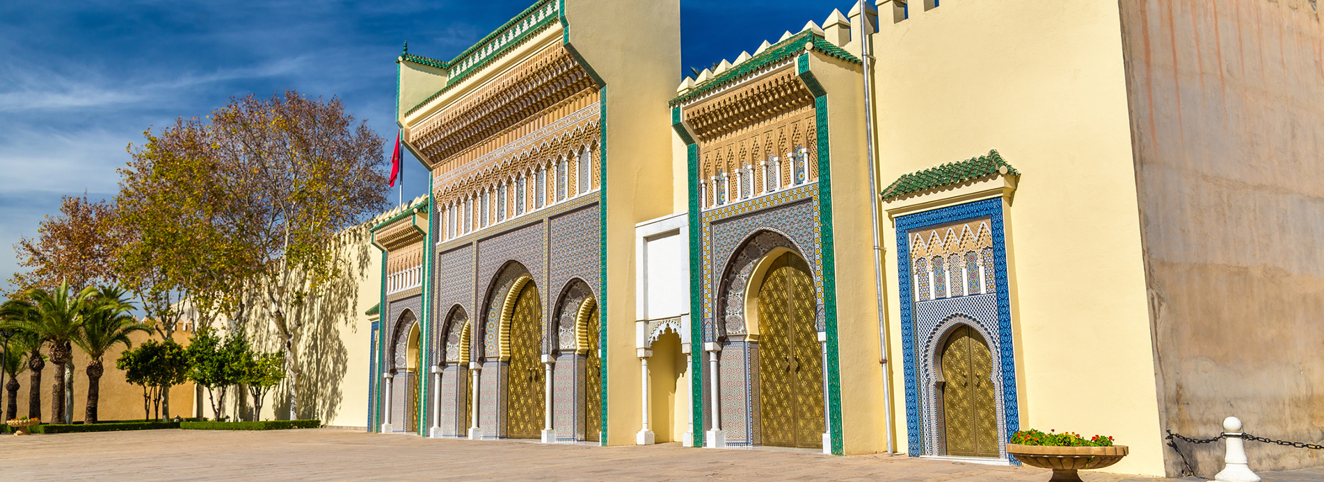 Flights from Bordeaux to Fez  from 94 EUR