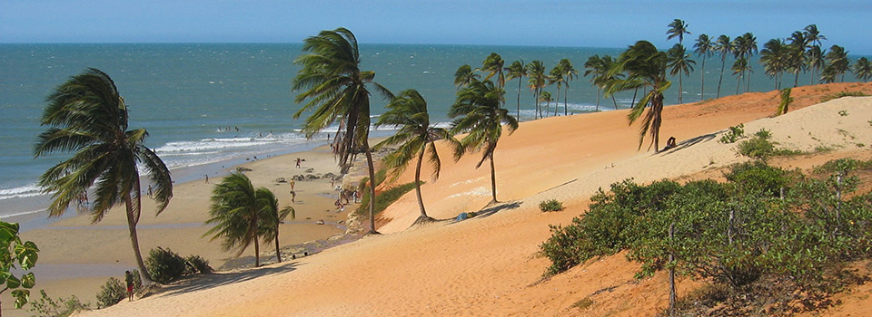 Flights from Dusseldorf to Fortaleza  from 424 EUR