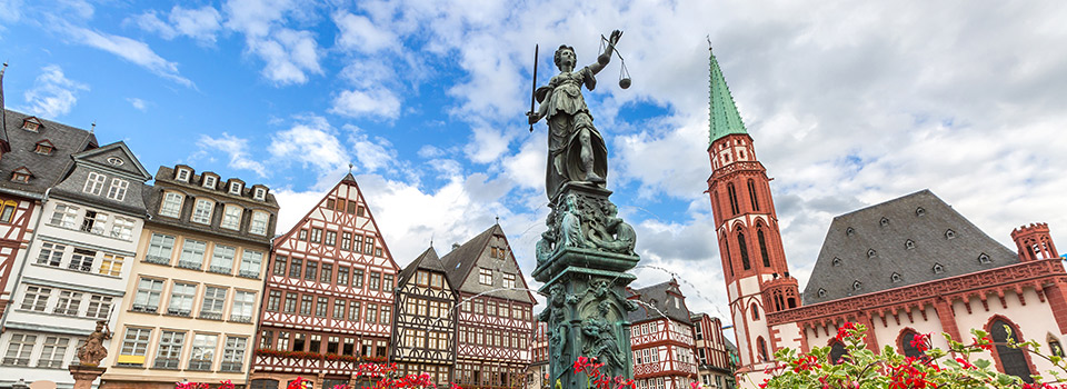 Flights from Malaga to Frankfurt  from 94 EUR