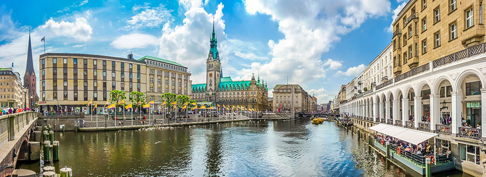 Flights from Boston to Hamburg  from USD 427