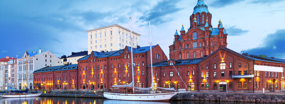Flights from Madrid to Helsinki  from 122 EUR