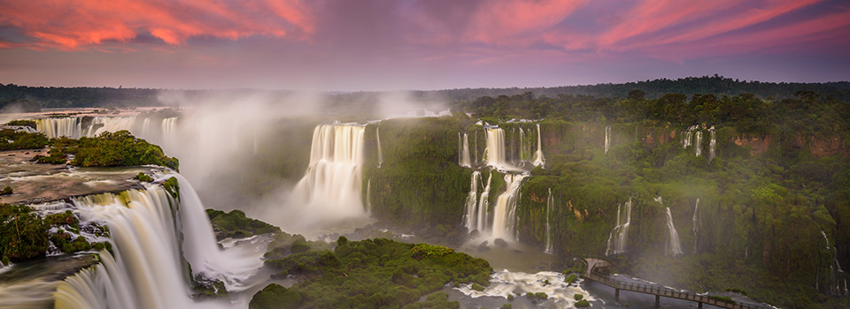 Flights from Rome to Iguazu Falls
