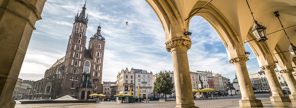 Flights from Krakow (KRK) starting at 715 PLN