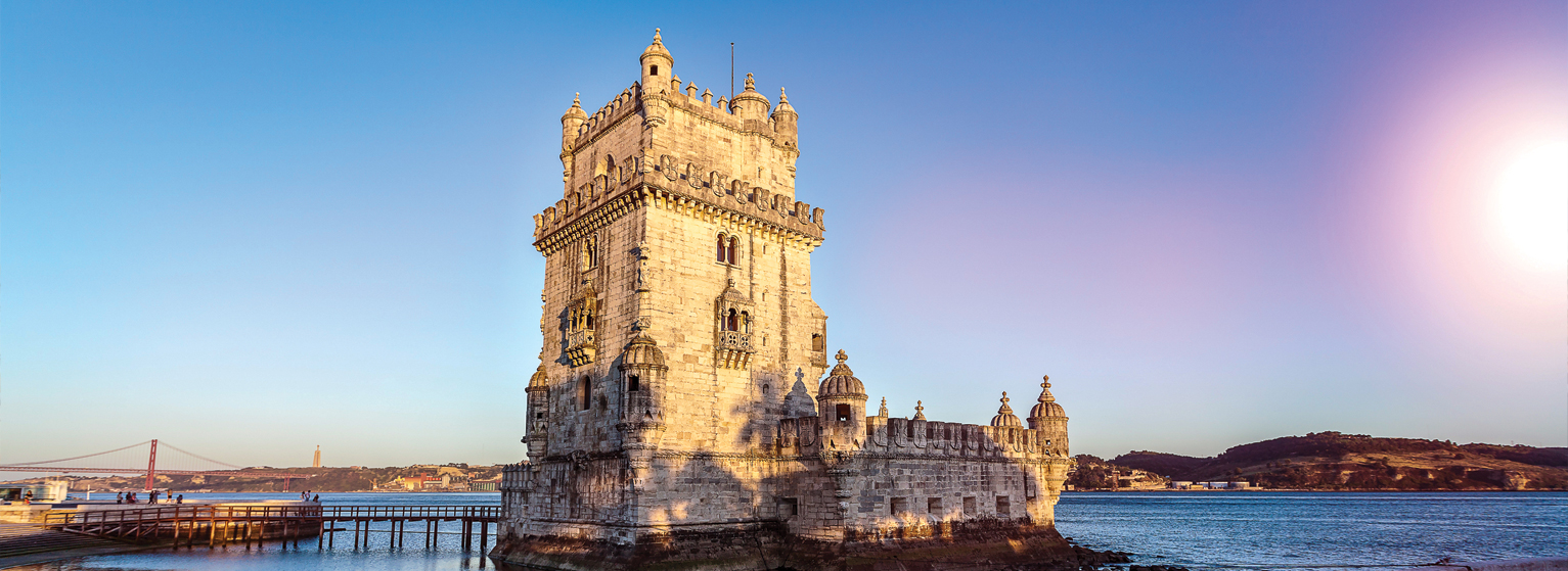 Flights from Frankfurt to Lisbon  from 63 EUR