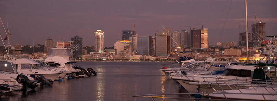 Flights from Moscow to Luanda  from 425 EUR