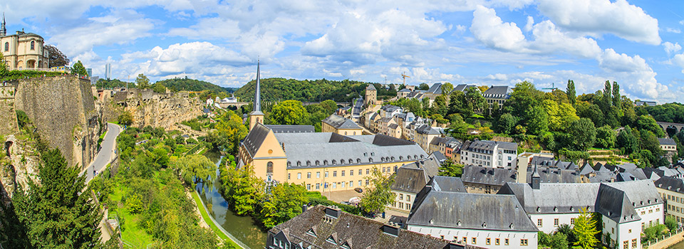 Flights to Luxembourg City (LUX) from 1,211 BRL