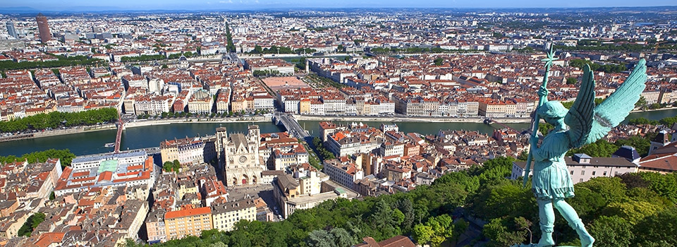 Flights from Uberlandia to Lyon
