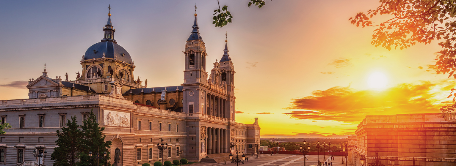 Flights from Bucharest to Madrid  from 120 EUR