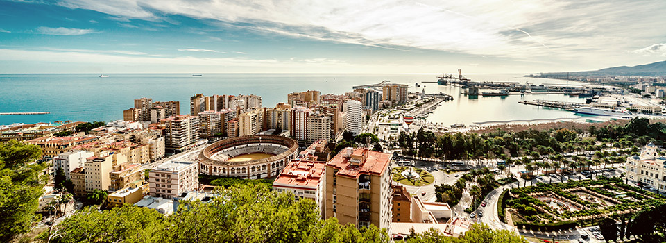 Flights from London to Malaga
