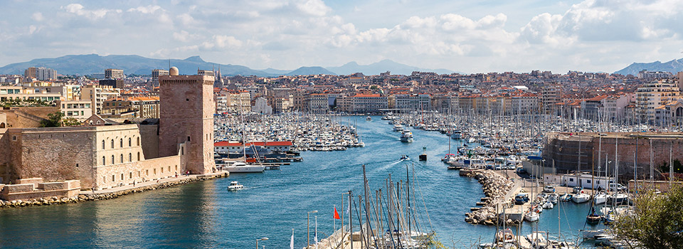 Flights from Barcelona to Marseille  from 464 EUR