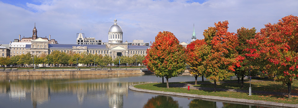 Flights from Madrid to Montreal  from 252 EUR