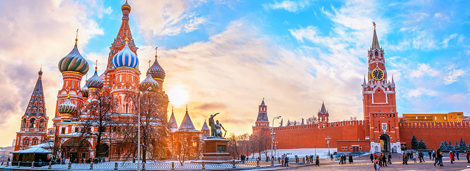 Flights from Barcelona to Moscow