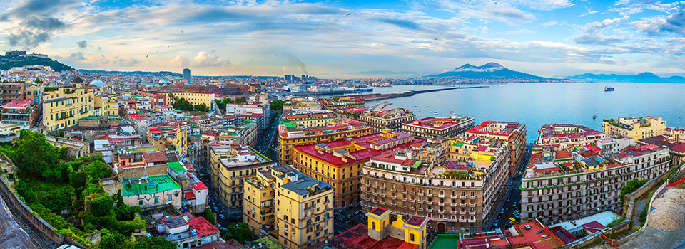 Flights from Brazil to Naples (NAP) from 367 EUR