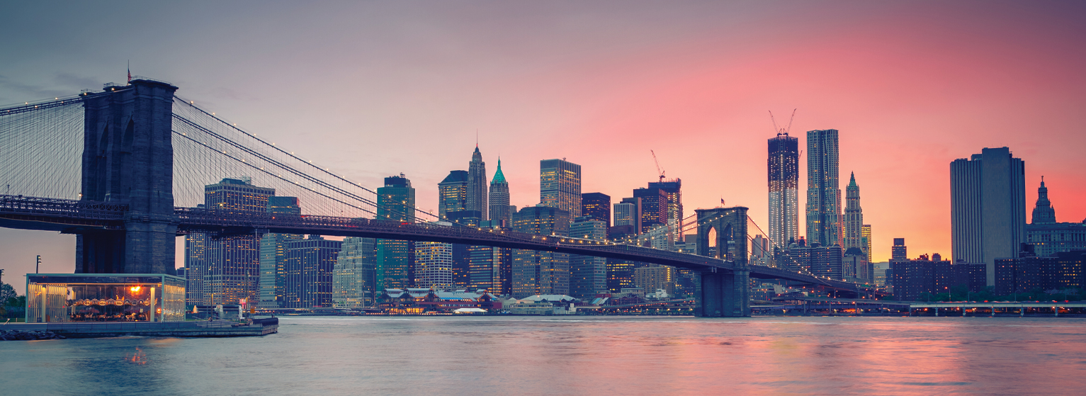 Flights from Lyon to New York  from 243 EUR
