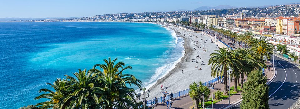Flights from Praia to Nice  from 196 EUR