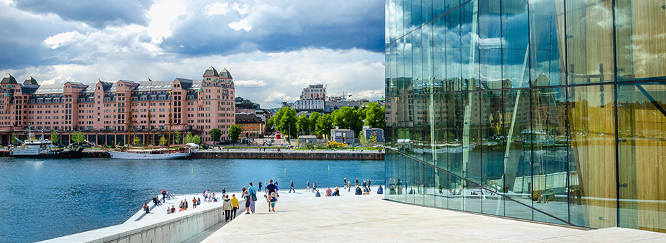 Flights from New York to Oslo  from USD 330