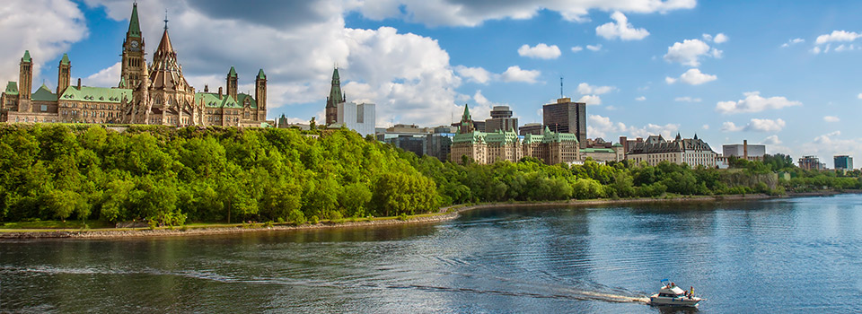 Flights to Ottawa (YOW) from 574 EUR