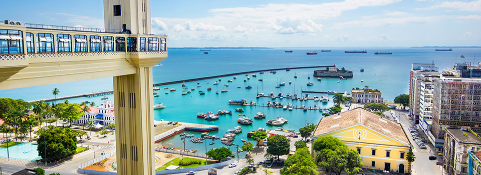 Flights from Bologna to Salvador  from 884 EUR