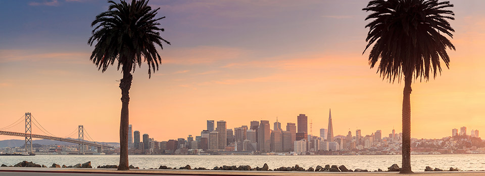Flights from San Francisco (SFO) starting at 195 EUR