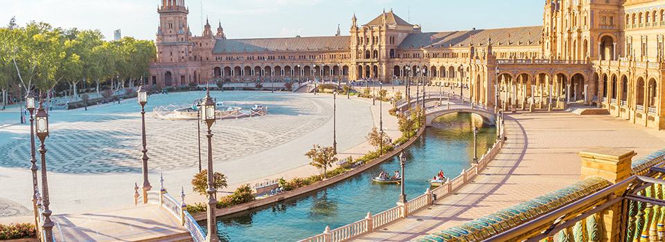 Flights from Frankfurt to Sevilla  from 277 EUR