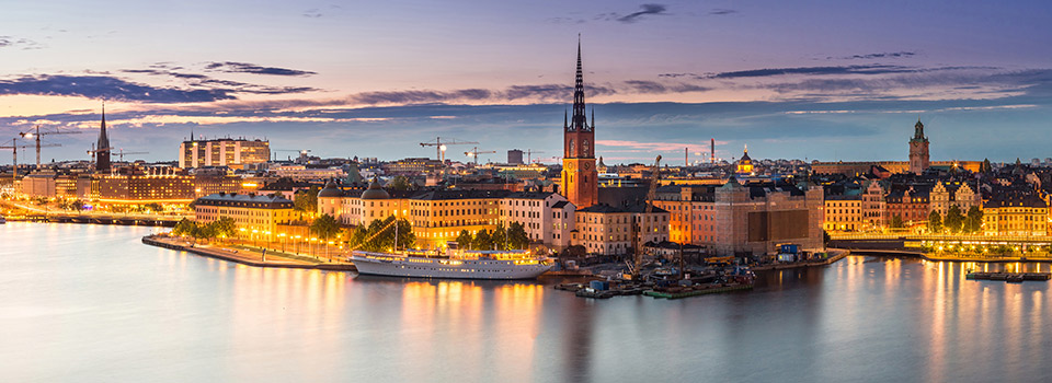 Flights from Toronto to Stockholm  from CAD 2,289