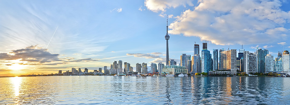 Flights from Frankfurt to Toronto  from 257 EUR