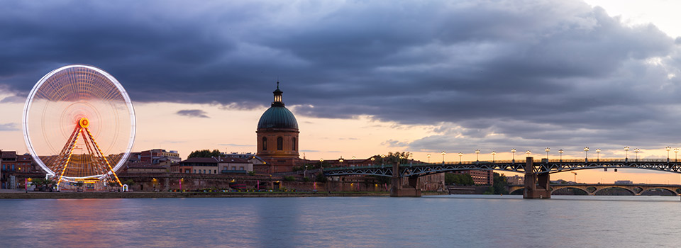 Flights from Malaga to Toulouse  from 59 EUR