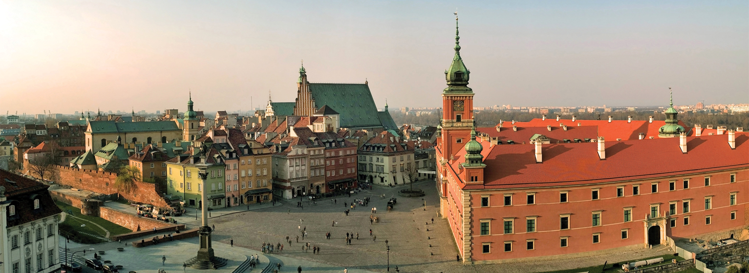 Flights to Warsaw (WAW) from 70 EUR
