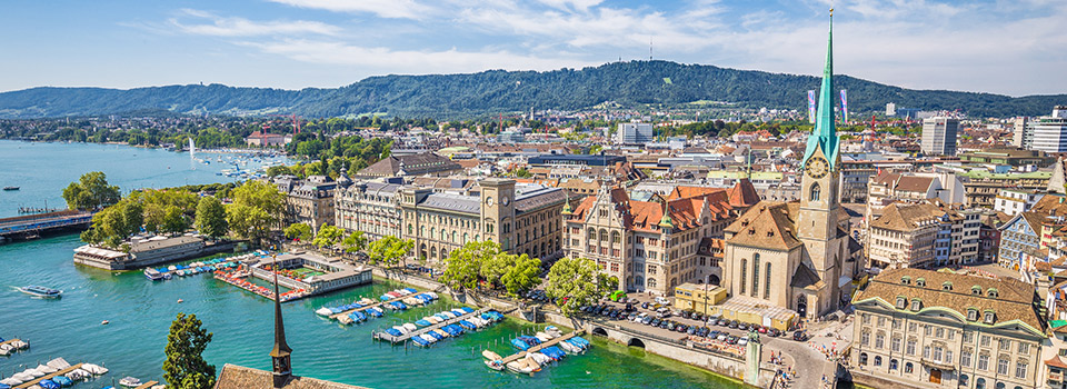 Flights from Boston to Zurich  from 215 EUR