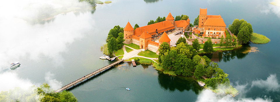 Flights to Lithuania from 272 EUR