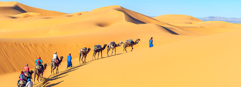 Flights from Morocco starting at 90 EUR